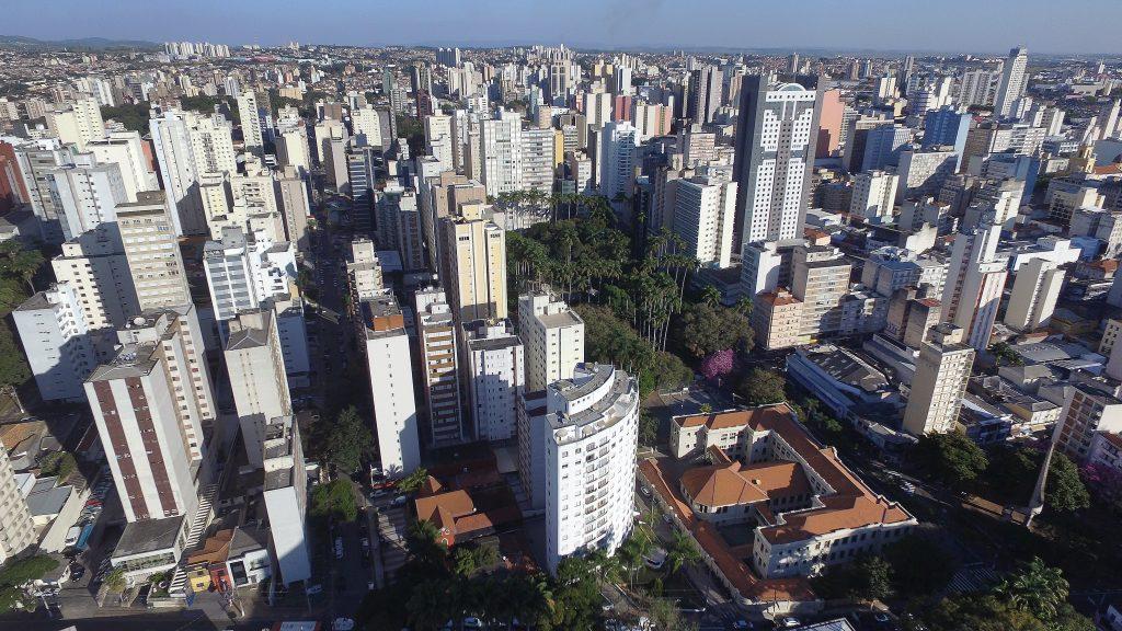 Campinas, cidade do interior de São Paulo