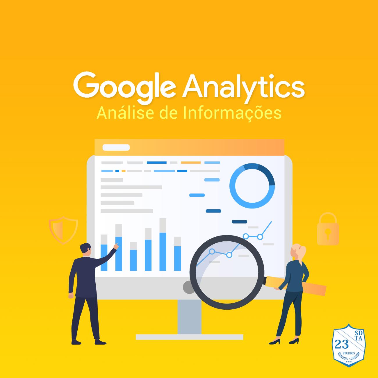 google analytics - análise de conteúdo