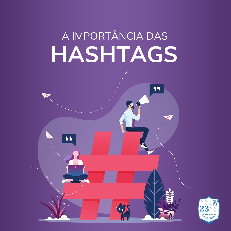 a importância das hashtags