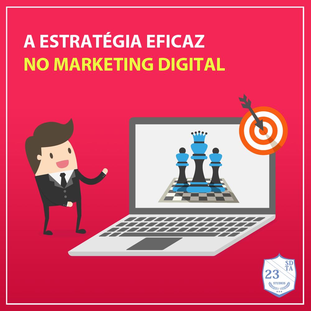 capa estratégia eficaz no marketing digital