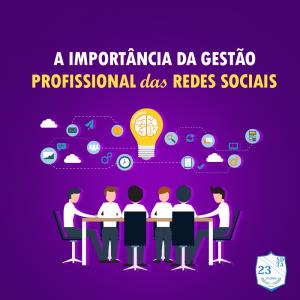 Importância da gestão profissional das redes sociais