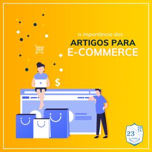 A produção de conteúdo faz parte de qualquer estratégia de e-commerce.