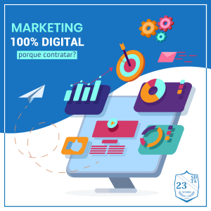 contratar agência de marketing 100% digital