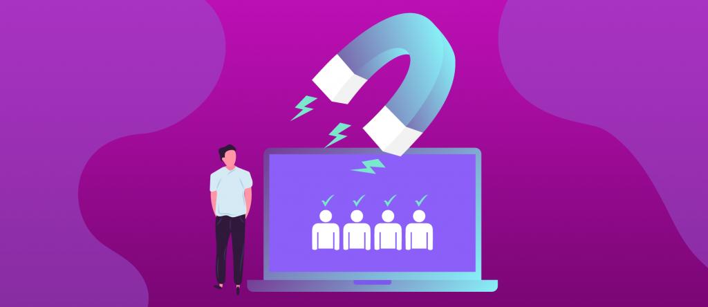 atrair clientes marketing de conteúdo para site