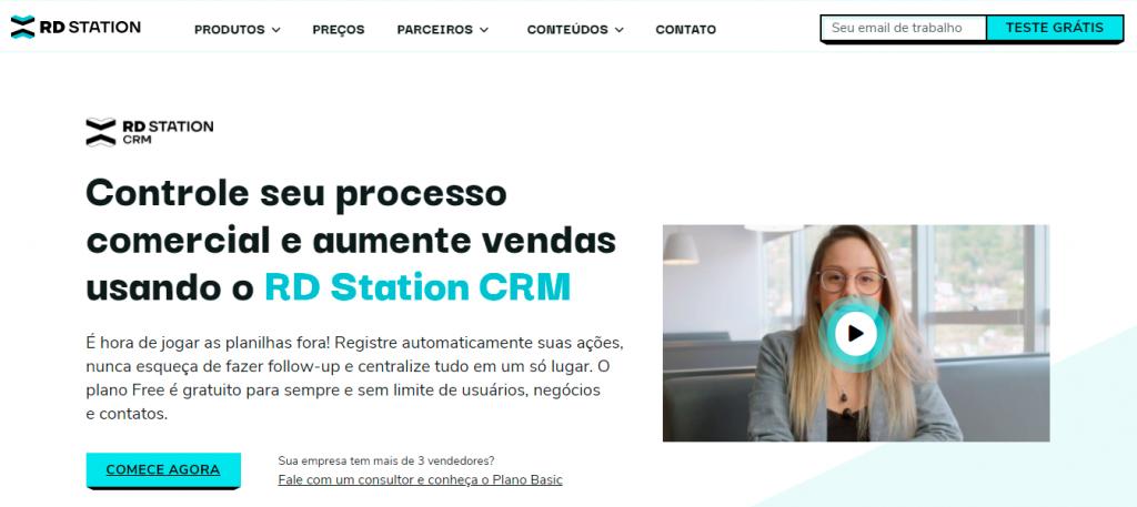 RD STATION ferramenta de CRM gratis